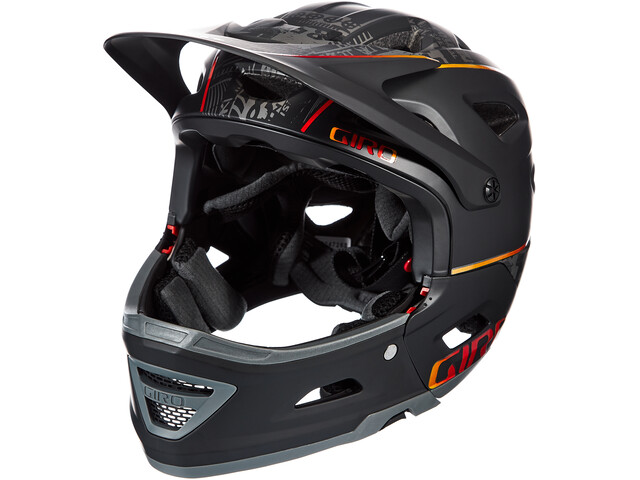 Giro Switchblade MIPS Kask rowerowy, matte black hypnotic